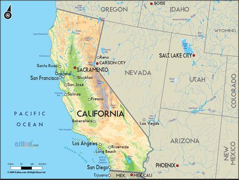 map  california road trip planner survivemag