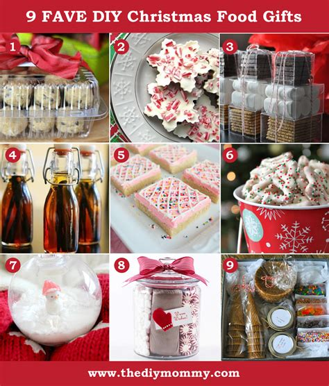 a handmade christmas diy food gifts the diy mommy
