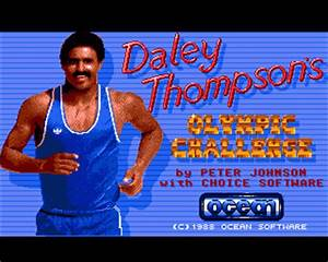 Daley Thompson's Olympic Challenge Details - LaunchBox ...