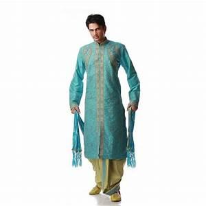 Tenue Indienne Homme : tenue indienne turquoise et dor e ~ Teatrodelosmanantiales.com Idées de Décoration