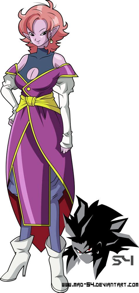 Adult Supreme Kai Of Time Early Design By MAD