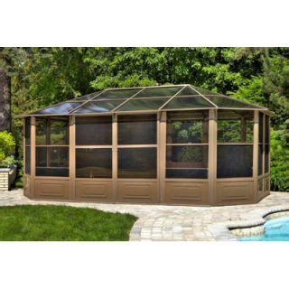 four seasons 12 x 15 outdoor patio screenhouse gazebo