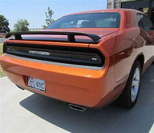 Composite Light Bulbs Gt Styling Gt4165 Dodge Challenger Taillight Cover 2 Pc