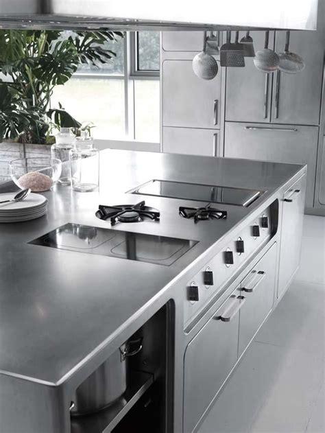 Küche Edelstahl by Edelstahl K 252 Che Abimis Prisma Kochplatte Arbeitsplatte