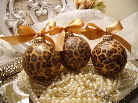 leopard print ornaments pictures   images