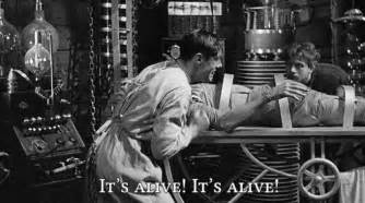 Image result for images of frankenstein it's alive