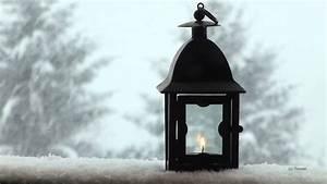 Lanterne De Noel : ambiance de no l neige qui tombe lanterne sous la neige qui tombe snowfall youtube ~ Teatrodelosmanantiales.com Idées de Décoration