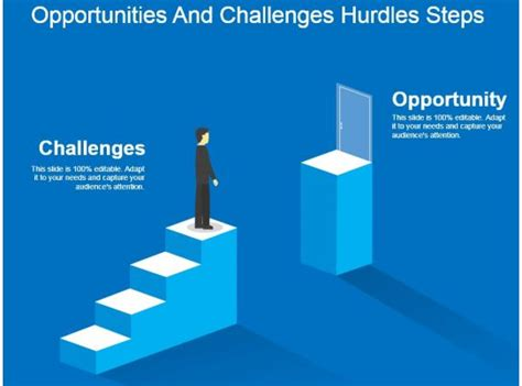 opportunities  challenges hurdles steps powerpoint