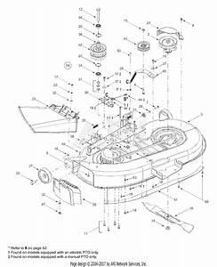 Mtd 13ad608g300  2003  Parts Diagram For Deck Assembly  U0026quot G U0026quot
