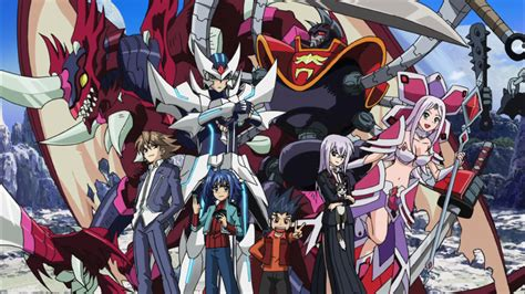 anime cardfight vanguard cardfight vanguard