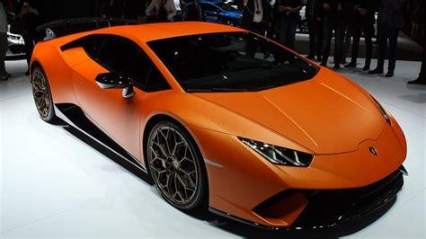 2018 Lamborghini Huracan Performante First Look