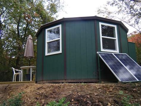 A Solar Powered Yurt Cabin You Can Build Yourself