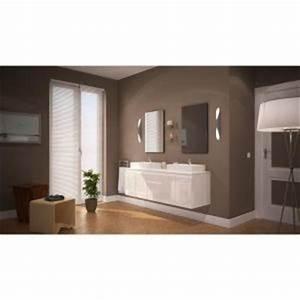 Meuble Double Vasque 150 Cm : meuble salle de bain 150 cm comparer 1097 offres ~ Teatrodelosmanantiales.com Idées de Décoration