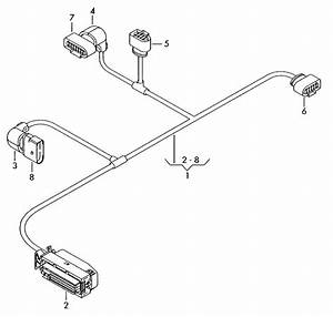 Audi Q5 Central Wiring Harness Matching Contact Housing