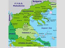 The Balkans Macedonia and Greece embark on friendlier
