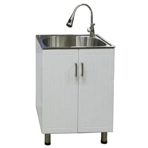 home depot deep sink home depot presenza utility cabinet with deep stainless