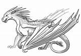 Fire Icewing Ice Wings Dragon Coloring Dragons Pages Icewings Drawing Queen Wikia Wiki Heart Wingsoffire Hvitur Cool Nightwing Draw Wing sketch template