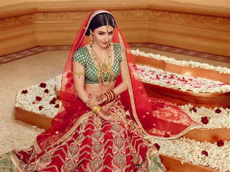 north indian hindu bride brides  india pinterest