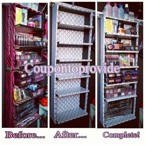 closet organization ideas using free dollar store