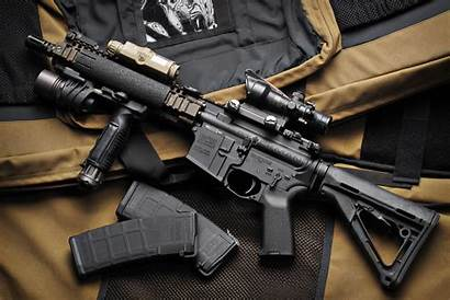 Weapons Gun Dangerous Guns Wallpapers Military Mk18