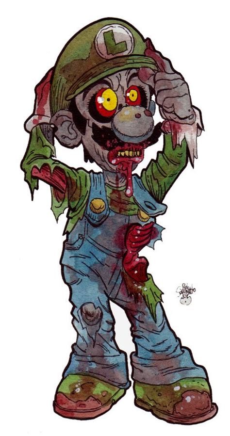 Zombie Art Video Game Characters Of The Living Dead