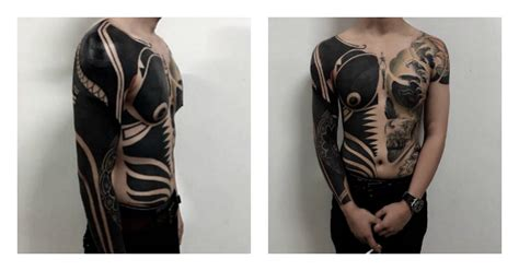 Blackout Tattoos Are The Latest Trend In Ink Mamamia