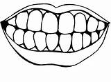 Teeth Coloring Clipart Dental Brushing Tooth Health Mouth Healthty Tongue Pages Print Drawing Printable Template Clipartmag Getcoloringpages Brush sketch template