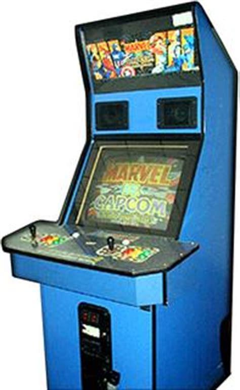 capcom arcade cabinet marvel vs capcom videogame by capcom