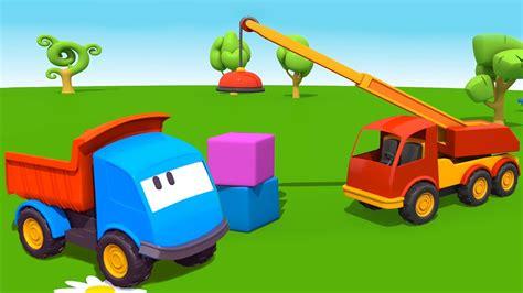 cartoni animati  bambini leo il camion curioso  la