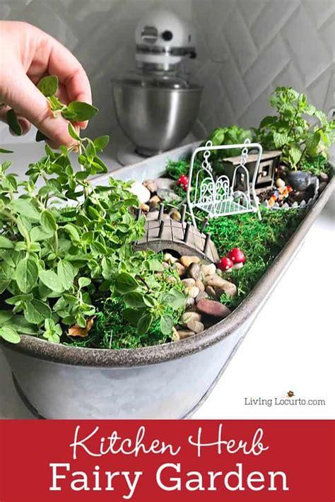 cutest fairy garden   kitchen