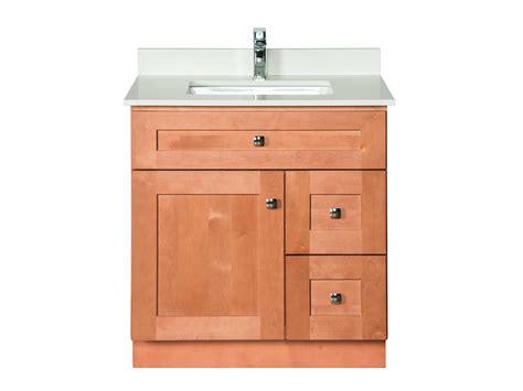 maple wood bathroom vanity  almond combo