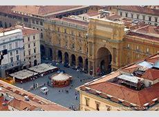 Piazza della Repubblica Florence On Line