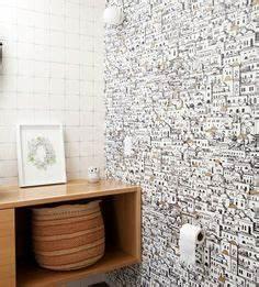 Papier Peint Pour Wc : 173 meilleures images du tableau papier peint toilettes ~ Nature-et-papiers.com Idées de Décoration