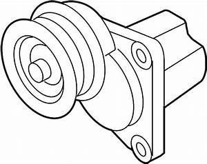 Mazda 6 Accessory Drive Belt Tensioner Assembly  Manual