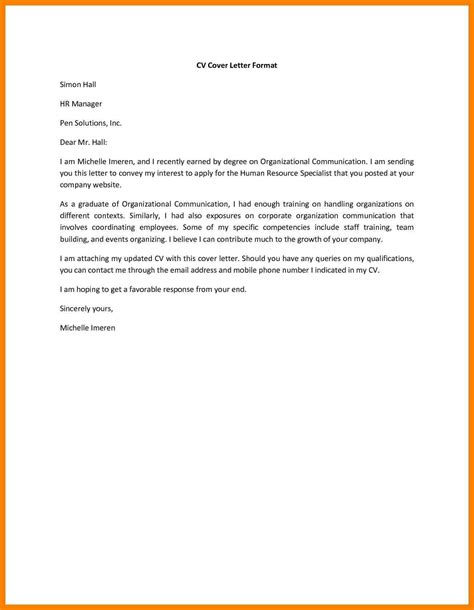 What Should Your Cover Letter Say by What Should A Cover Letter Say What Should A Cover Letter