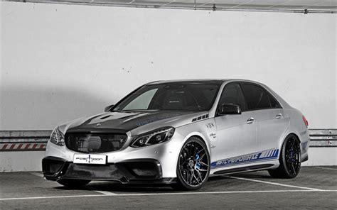 Download Wallpapers Mercedes-benz E-class, Amg, Posaidon