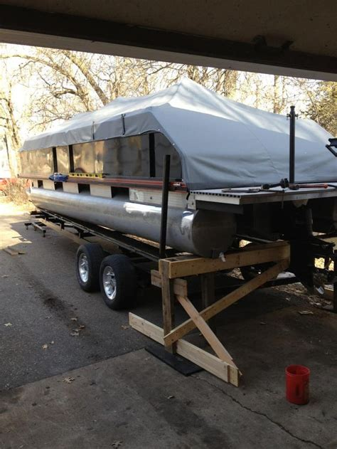 Removing A Boat From A Trailer On Land by 133 Best Images About Premier Pontoon Boat On