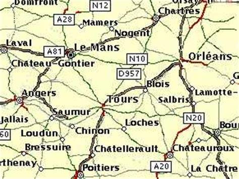 Carte Des Autoroutes Du Centre De La by Venir En Et En Val De Loire