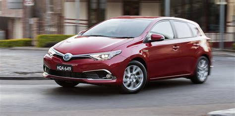 2016 Toyota Corolla Hybrid Pricing And Specifications