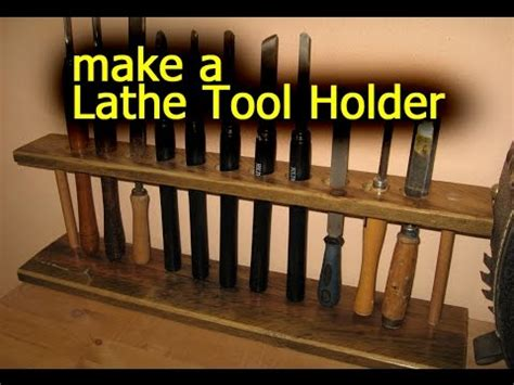 lathe tool holder pallet wood woodworking youtube