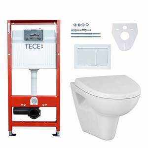 Wand Wc Komplettset : tece wc komplettset vorwandelement wand wc parva new ~ Articles-book.com Haus und Dekorationen