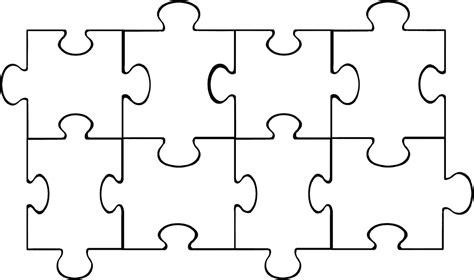 4 puzzle template puzzle pieces template beepmunk