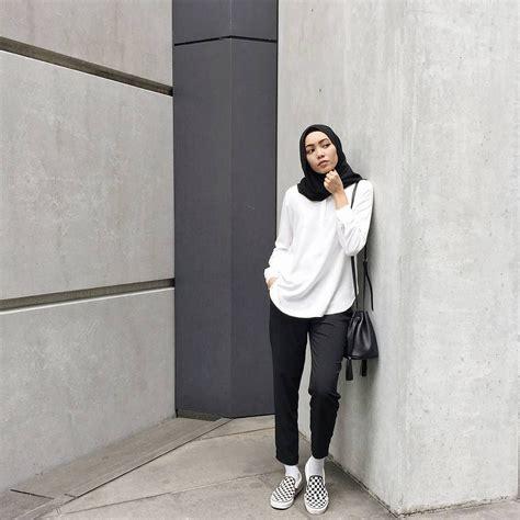 instagram photo  atabbyasmaa  likes model pakaian hijab gaya kasual gaya