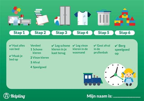 toilet schoonmaken stappenplan leren opruimen en helpen met taakjes