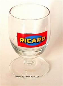 Verre A Ricard : verre ricard collection pour amateur de la marque ricard ~ Teatrodelosmanantiales.com Idées de Décoration