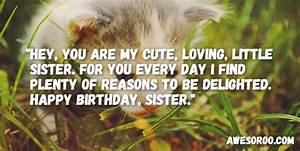 318 BEST Happy Birthday Sister Status Quotes Wishes Oct 2018