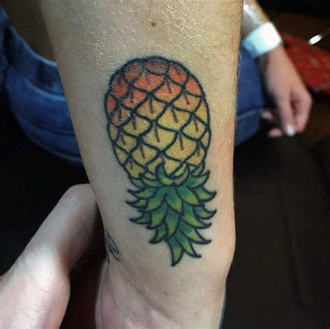 pineapple tattoo designs ideas  meaning tattoos