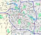 33 Ann Arbor Michigan Map - Maps Database Source