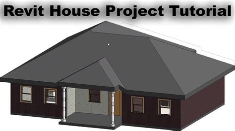 revit house project tutorial  beginners  house plan