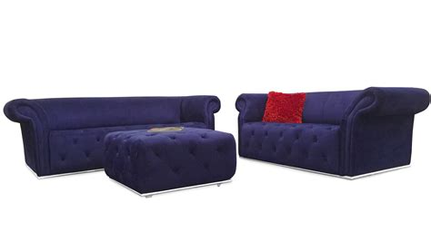 blue sofa and loveseat sets modern blue fabric tufted elizabeth sofa and loveseat set